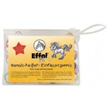 Effol Non Snap Plaiting Bands for Kids